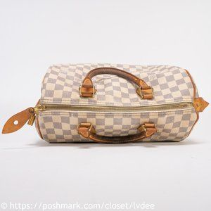 Louis Vuitton Bags - Louis Vuitton Damier Azur Speedy 30